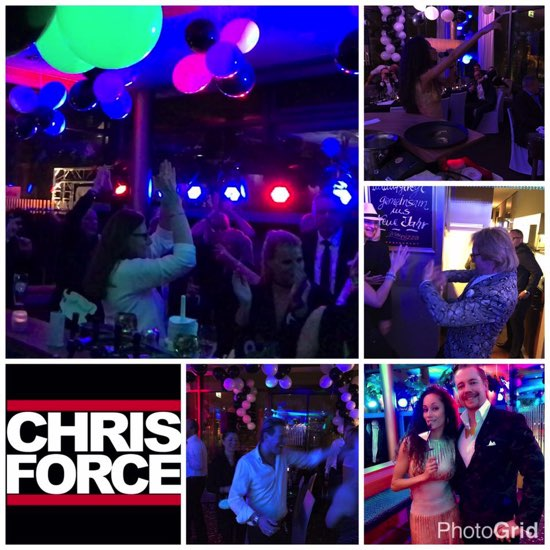 Dj Chris Force // Frankfurt DJ Silvester Party im Main Nizza