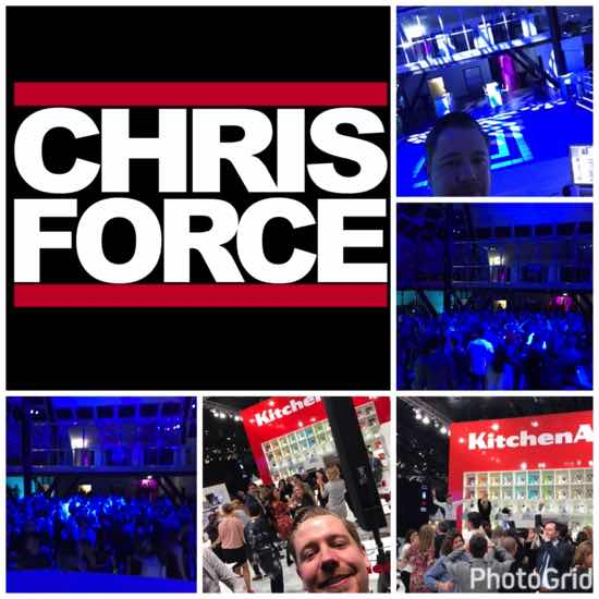 Dj Chris Force Frankfurter Messe Party